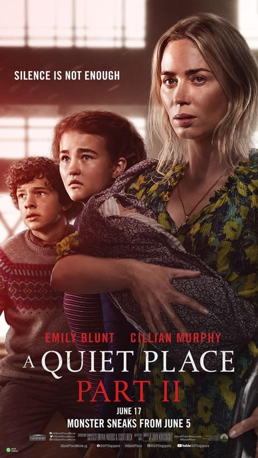 A quiet place poster